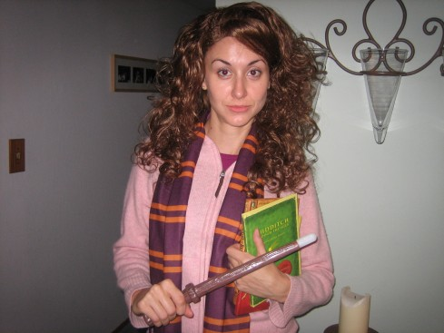 Angie as Hermione